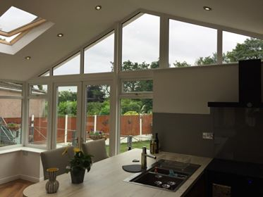 Conservatory with Guardian Warm Roof