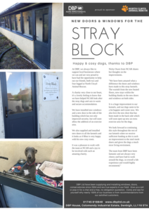 New Windows and Doors of Stray Block